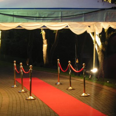 ROPE, STANCHION & RED CARPETS